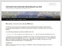 Llamadas internacionales desde España - 902 y Móvil | Serv