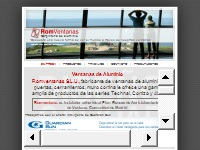 Romventanas, S.L. - Carpintería de Aluminio en Madrid