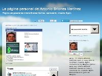 La página personal de Antonio Briones Martínez