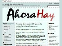 El Blog de AHoraHay - estadísticas de usuarios online