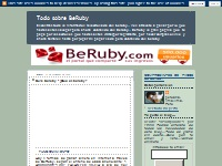 Todo sobre BeRuby