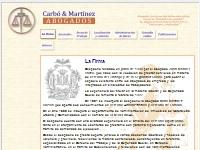 Carbó y Martínez Abogados