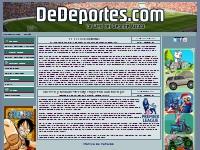 DeDeportes.com - informaci�n deportiva